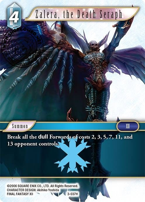 Zalera, the Death Seraph 3-037 Foil