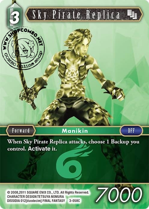 Sky Pirate Replica 3-058 Foil