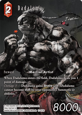 Dadaluma 11-011R Foil Full Art