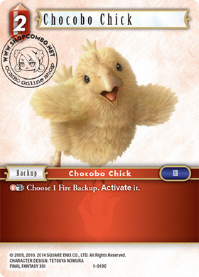 Chocobo Chick 1-019 C