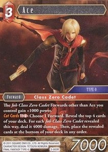 Ace 3-003R Alternate Art Promo