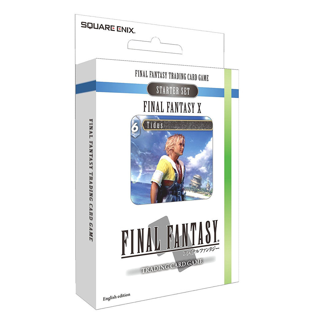 Final Fantasy TCG - X (Wind & Water) Starter Deck