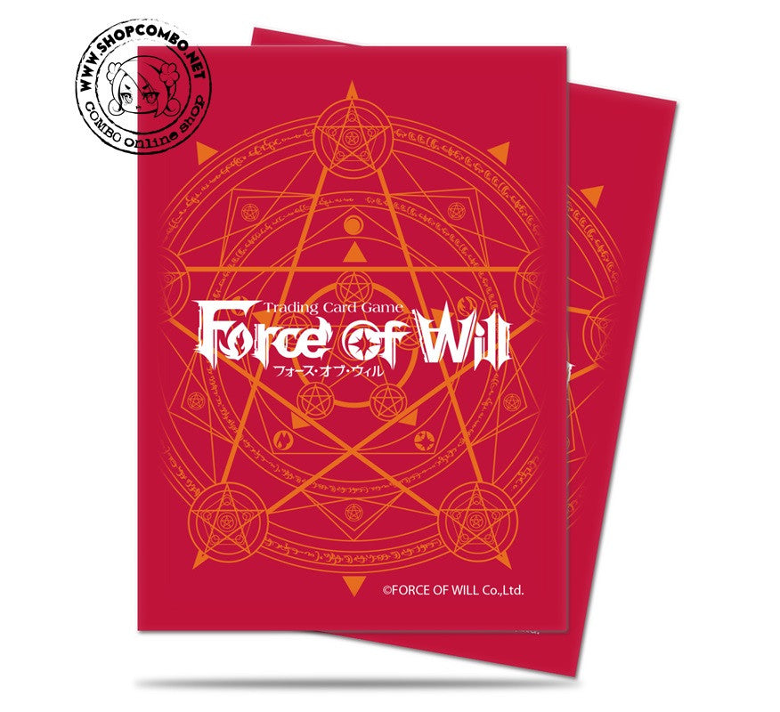 Force of Will - Red Card Back Deck Protectors