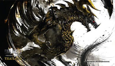 Final Fantasy Exclusive play mat, Store Champion - Bahamut
