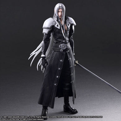 [Pre-Order] FINAL FANTASY® VII REMAKE PLAY ARTS -KAI- ™ SEPHIROTH [ACTION FIGURE]