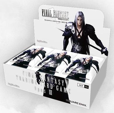 Final Fantasy TCG - OPUS III Booster box
