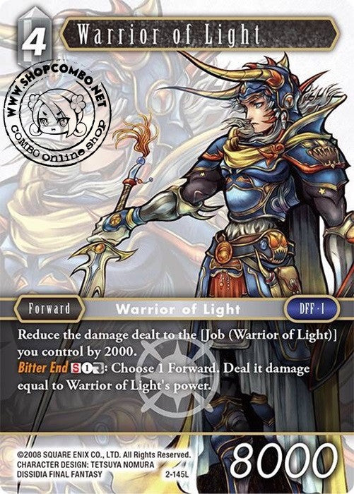 Warrior of Light 2-145 L Foil