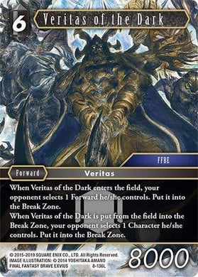 Veritas of the Dark (8-136) (Foil)