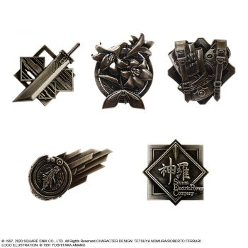 [Pre-Order]FINAL FANTASY VII REMAKE PIN BADGE SET(BLIND BOX OF 10) [PIN]