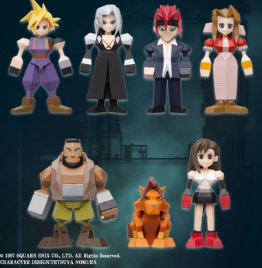 [Pre-Order]FINAL FANTASY VII POLYGON FIGURE DISPLAY SET(BLIND BOX OF 8) [FIGURINE]