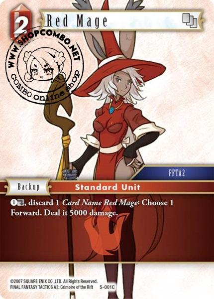 Red Mage (5-001) (Foil)