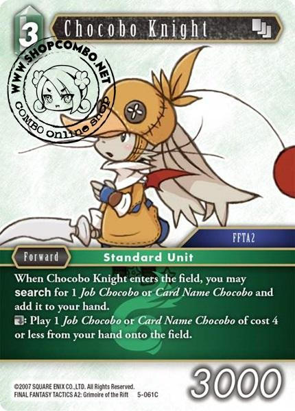 Chocobo Knight (5-061) (Foil)