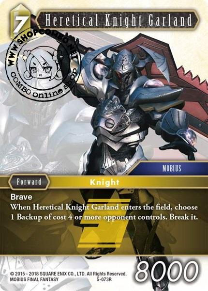 Heretical Knight Garland (5-073) (Foil)