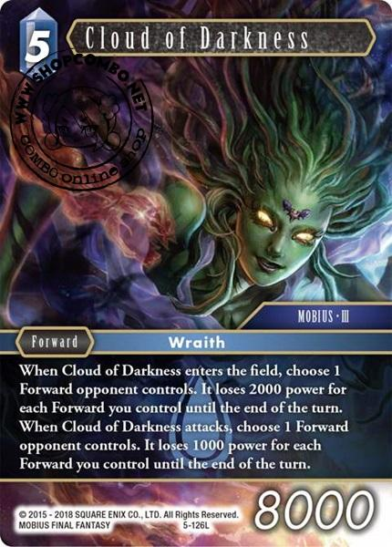 Cloud of Darkness (5-126) (Foil)