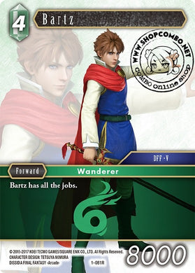 Bartz 1-081R Alternate Art Promo