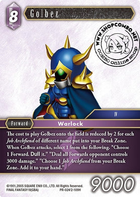 Golbez PR-024/2-109H Alternate Art Promo Foil