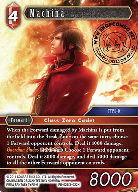 Machina PR-025/3-022H Alternate Art Promo Foil