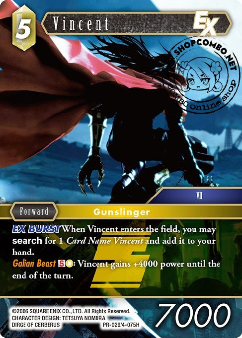 Vincent PR-029/4-075H Alternate Art Promo