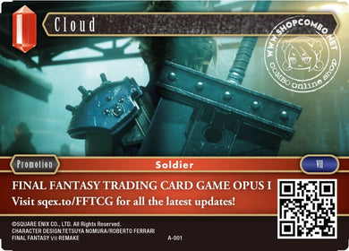 Cloud A-001 Promotion Card Foil Opening Event English Version