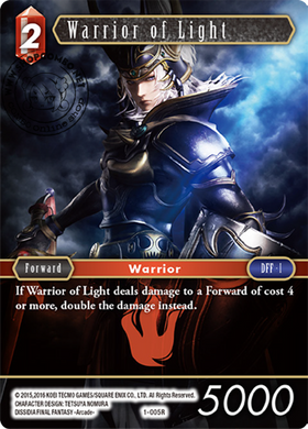 Warrior of Light 1-005 R