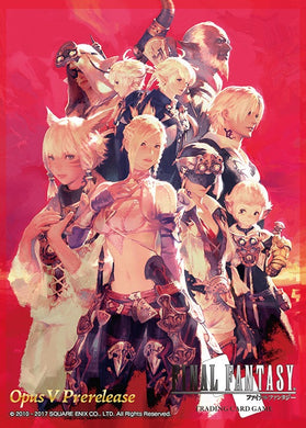 Final Fantasy XIV - EXCLUSIVE SLEEVES, featuring the Scions of the Seventh Dawn