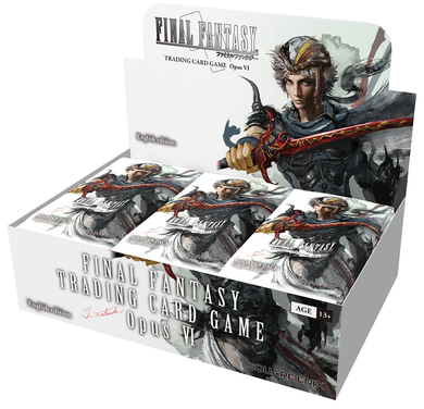 Final Fantasy TCG - OPUS VI Booster Box