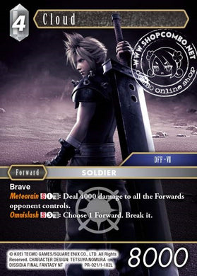 Cloud PR-021 / 1-182 L Alternate Art Promo Foil