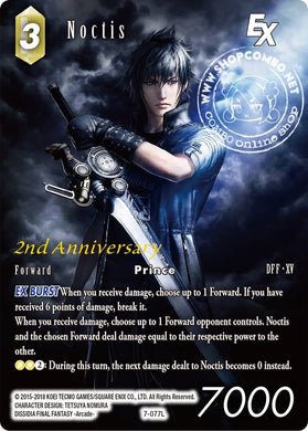 Noctis 7-077 Foil Full Art Promo With Gold Stamp 2nd Aniversary