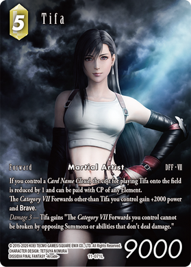Tifa 11-071L Foil Full Art