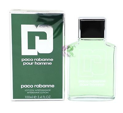 Paco Rabanne Pour Homme Aftershave 100ml Men Fragrances After Shave New Boxed