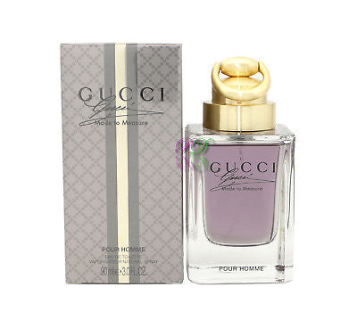 Gucci Made to Measure Pour Homme Edt 90ml Perfume Men Fragrances for Him New Box