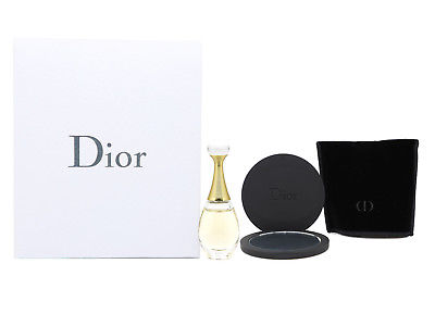 Dior J'adore Edp 5ml Perfume and Pocket Mirror Women Jadore Gift Set New