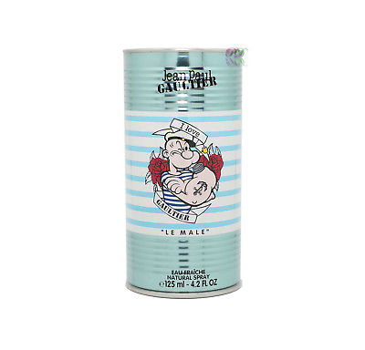 Jean Paul Gaultier Le Male Eau Fraiche Popeye Edt 125ml Men Perfume Spray JPG