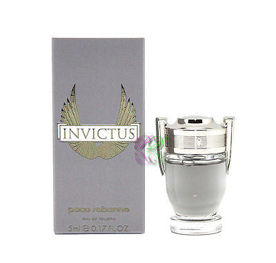 Paco Rabanne Invictus Edt 5ml Miniature Men Perfume Eau de Toilette Fragrances