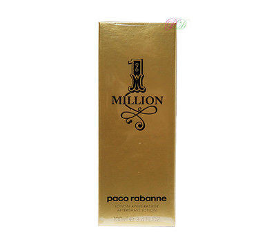 Paco Rabanne Eine Million Aftershave Lotion 100ml Men After Shave Boxed & Sealed