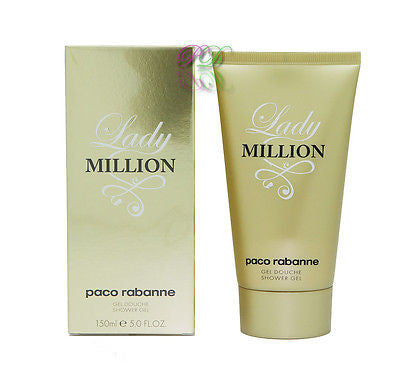 Paco Rabanne Lady Million Shower Gel 150ml Women Fragrances Boxed & Sealed New