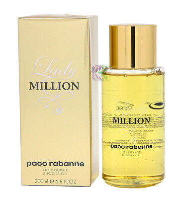 Paco Rabanne Lady Million Shower Gel 200ml Women Fragrances Boxed