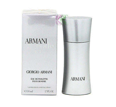 Giorgio Armani Code Ice Pour Homme Edt 50ml Perfume Men Fragrances New Spray