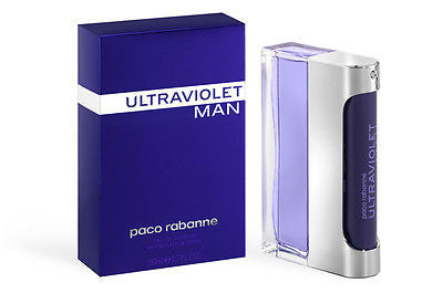 Paco Rabanne Ultraviolet  Man Edt 50ml Perfume Ultra violet Men Fragrances New