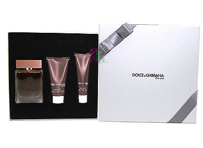 Dolce & Gabbana the one Gift Set Edt 100ml D&G Men Gel de ducha para después del afeitado D & G