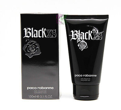 Paco Rabanne Black XS Shower Gel 150ml Men Fragrances For Him Boxed & Sealed New