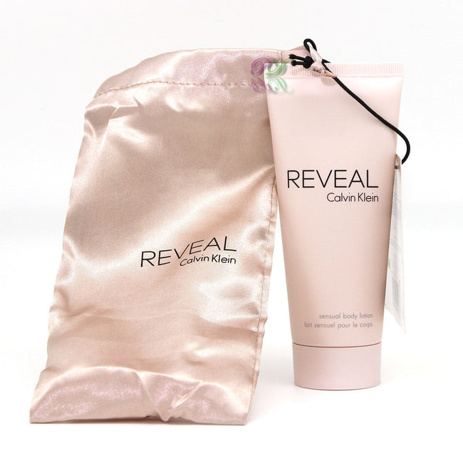 Calvin Klein Reveal For Her Body Lotion 100ml en Satin Pouch CK Fragancias para mujer