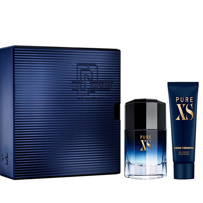 Paco Rabanne Pure Xs Eau De Toilette Spray 100ml Set 2 Pieces 2019