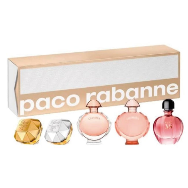 Paco Rabanne For Her Miniatures Set 5 Pieces 2020