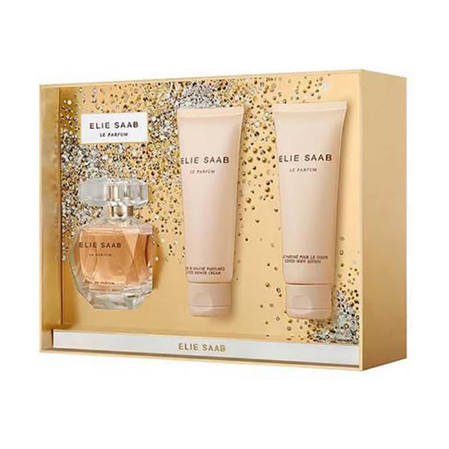 Elie Saab Le Parfum Eau De Perfume Spray 50ml Set 3 Pieces 2019