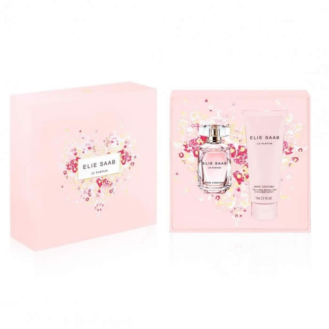 Elie Saab Rose Couture Le Parfum Eau De Toilette Spray 30ml Set 2 Pieces 2017