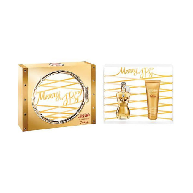 Jean Paul Gaultier Classique Intense Edp 50ml Spray Gift Set New