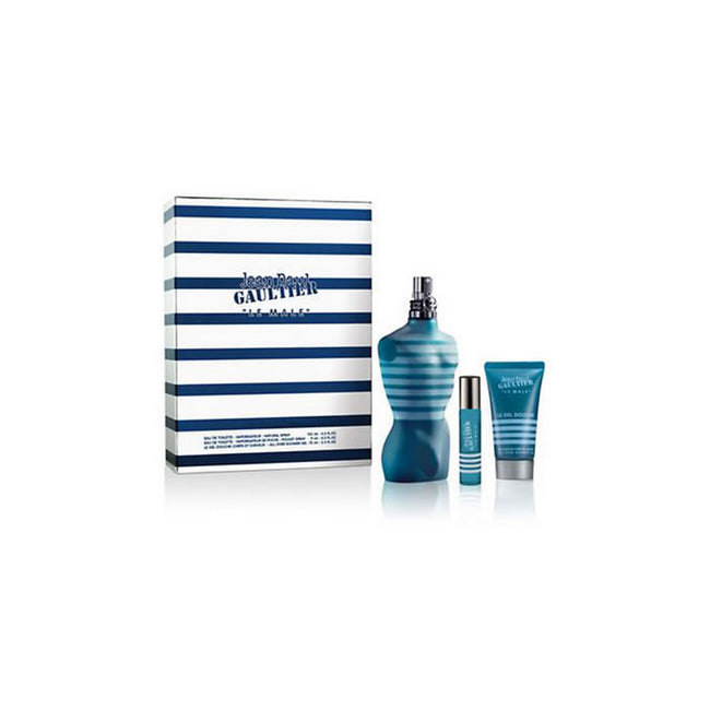Jean Paul Gaultier Le Male Eau De Toilette Spray 125ml Perfume Gift Set