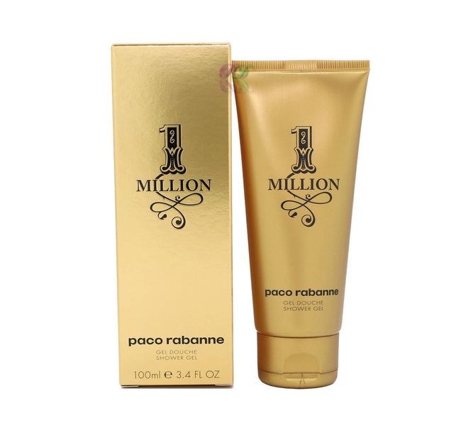 Paco Rabanne One Million Shower Gel 100ml Men Boxed & Sealed New