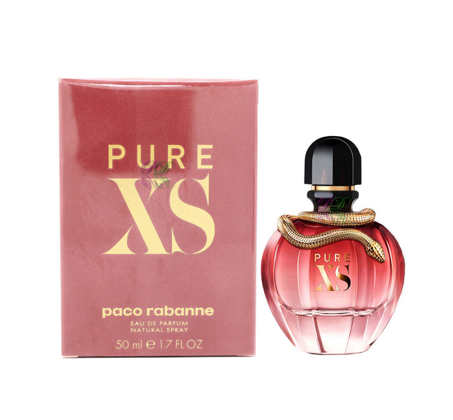 Paco Rabanne Pure XS Edp 50ml Women Perfume Spray Boxed & Sealed New